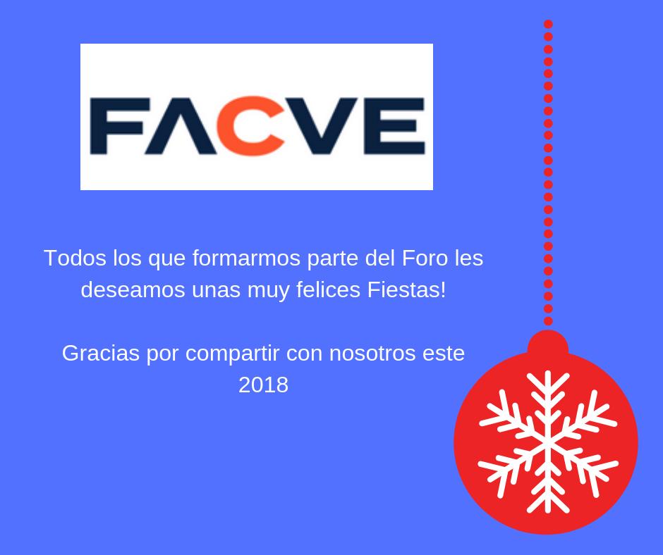 FACVE Felices Fiestas